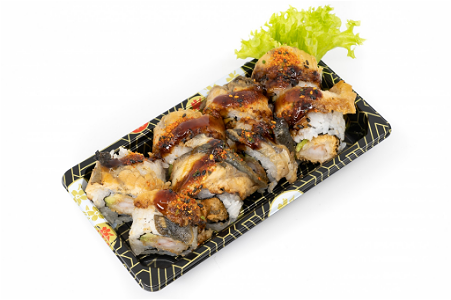 Foto Flaming Dragon Uramaki 8st