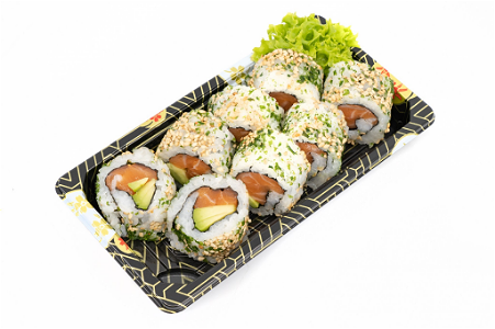 Foto Sake avocado roll 8st