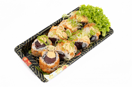 Foto Spicy tuna roll 8st