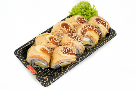 Foto Flaming Umai cheese roll 8st