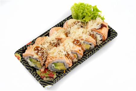 Foto Flaming eagle King roll 8st