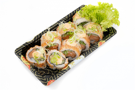 Foto Spicy Sake roll 8st